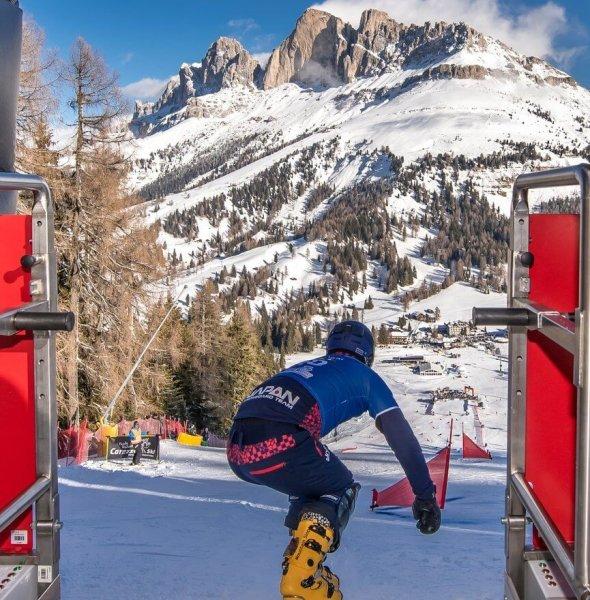 Snowboard Fis World Cup Carezza