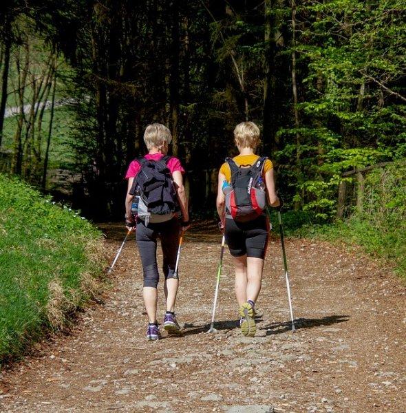 Nordic Walking al Ciampedìe